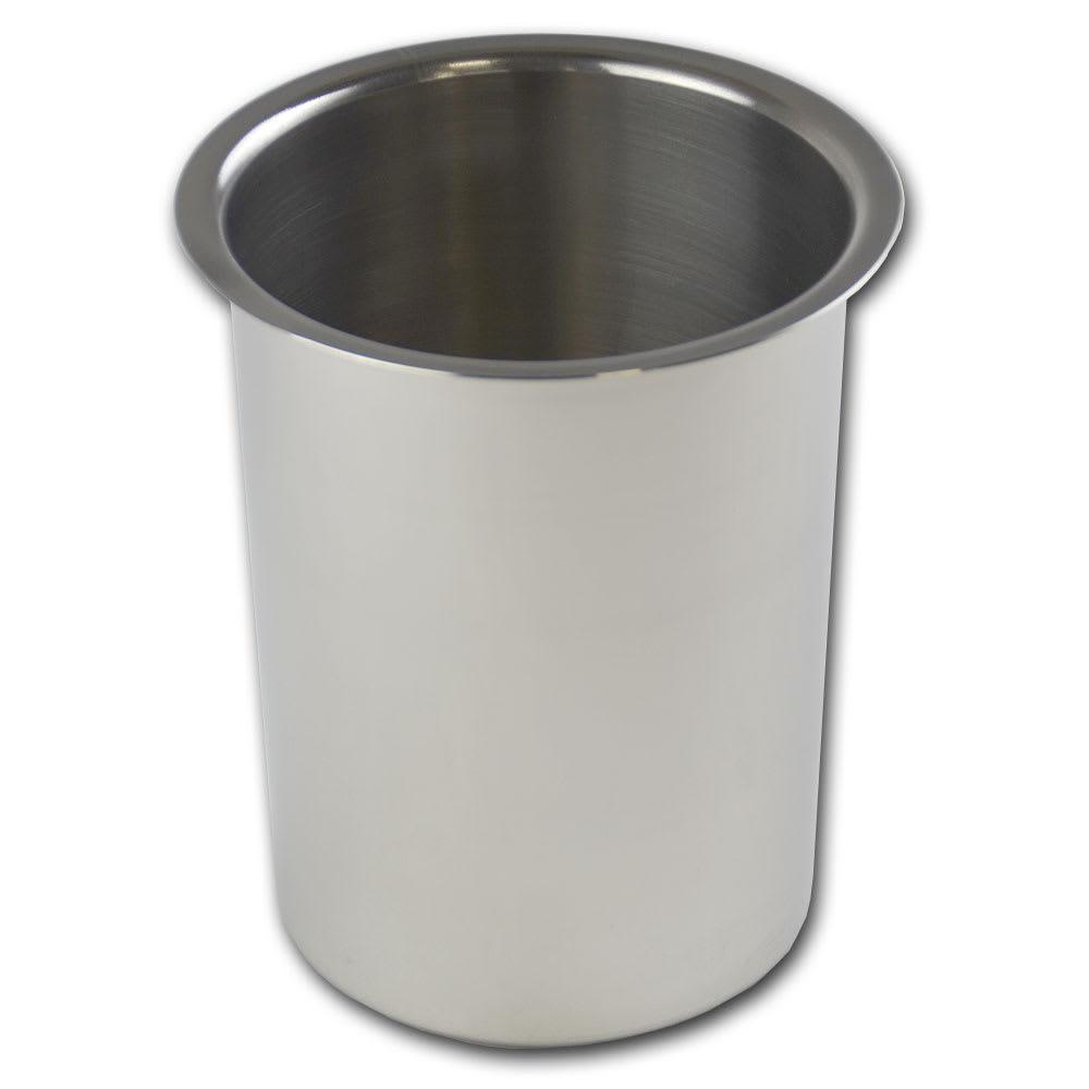 "Browne 575772 Bain Marie Pot, 2 qt Capacity, Fits 4-7/8"" Opening"