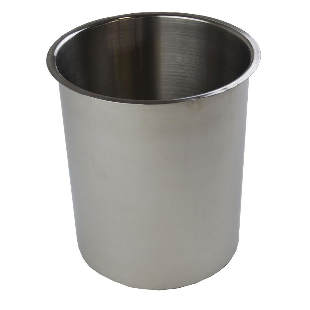 "Browne 575773 Bain Marie Pot, 3.5 qt Capacity, Fits 6 1/8"" Opening"
