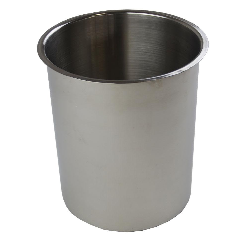 "Browne 575776 Bain Marie Pot, 6 qt Capacity, Fits 7-1/4"" Opening"