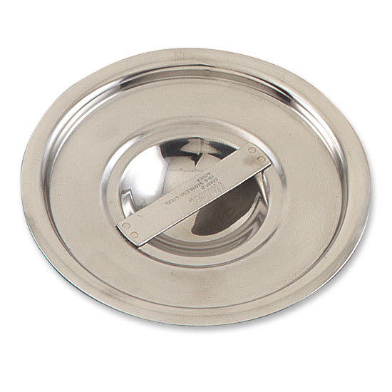 Browne 5757821 Bain Marie Pot Cover, Solid, Fits 12 qt Pot, Stainless Steel