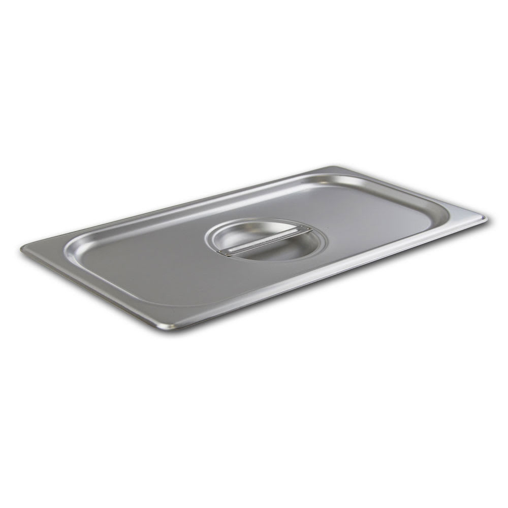 Browne 22240 Half-Size Long Steam Pan Cover, Stainless