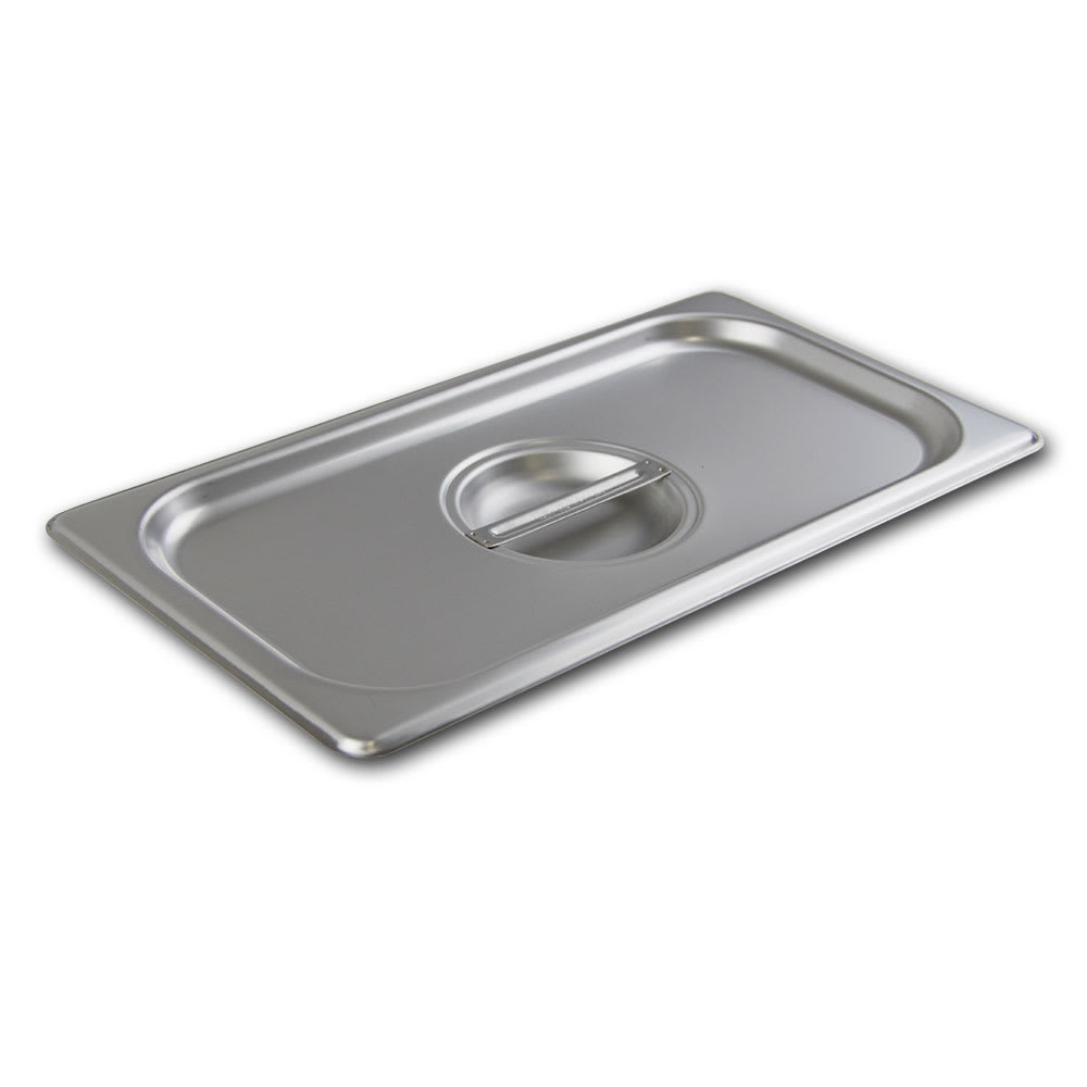 Browne 575548 Third-Size Steam Pan Cover, Stainless