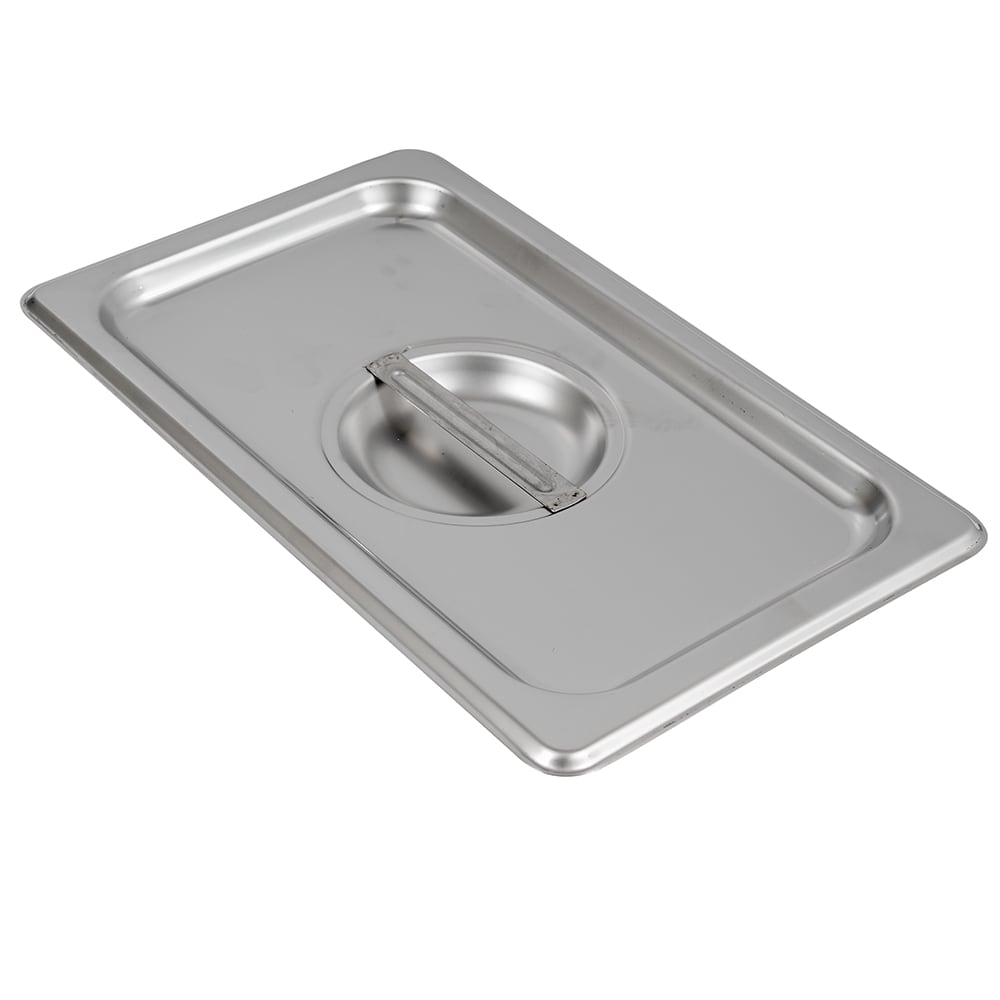 Browne 575558 Fourth-Size Steam Pan Cover, Stainless