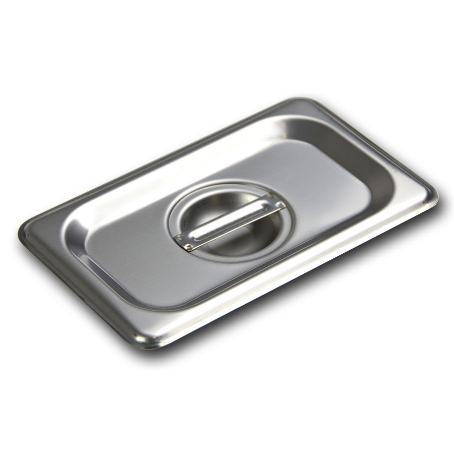 Browne CP8192 Ninth-Size Steam Pan Cover, Stainless