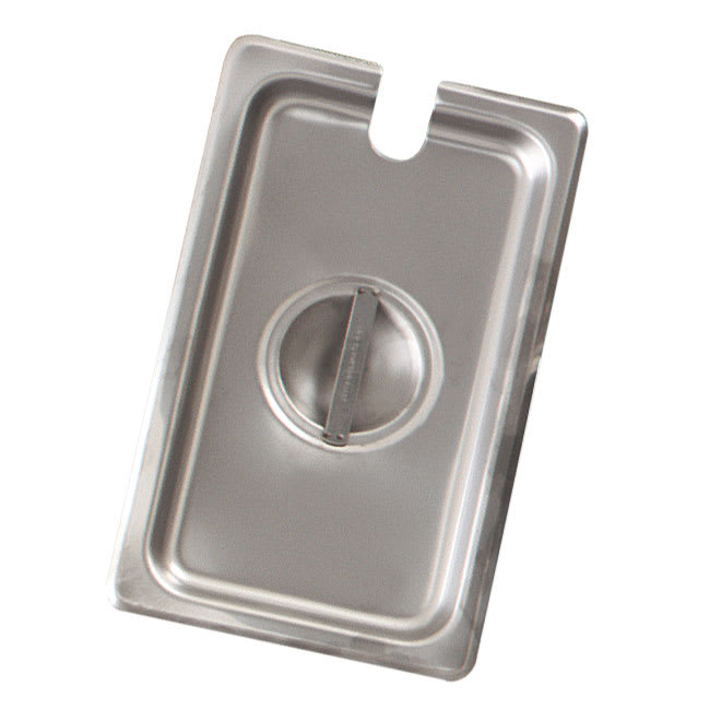 Browne CP8232NC Two-Third Size Steam Pan Cover - Notched, Stainless