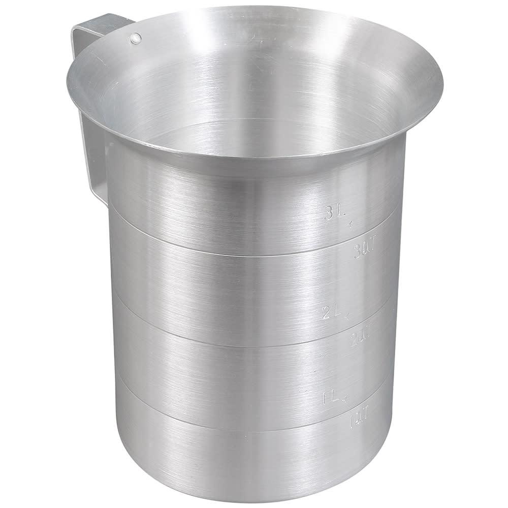 Browne 575670 Liquid Measuring Cup, 4 qt, Heavy Duty Aluminum