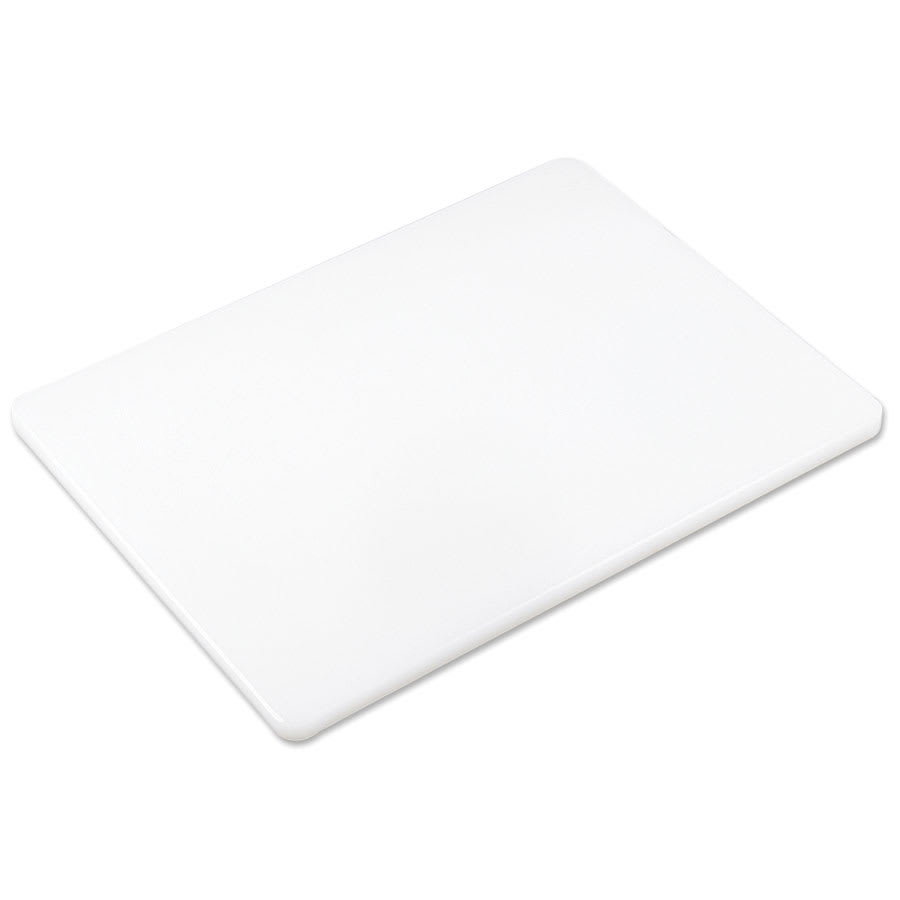 Browne PER1520 ColorCode Cutting Board, 15 x 20 x 1/2 in, High-Density, White