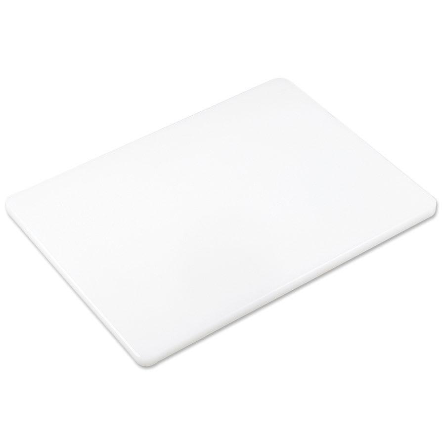 "Browne PER1824 Cutting Board w/ Non-Skid Surface, High Density, 18x24x.5"", White"