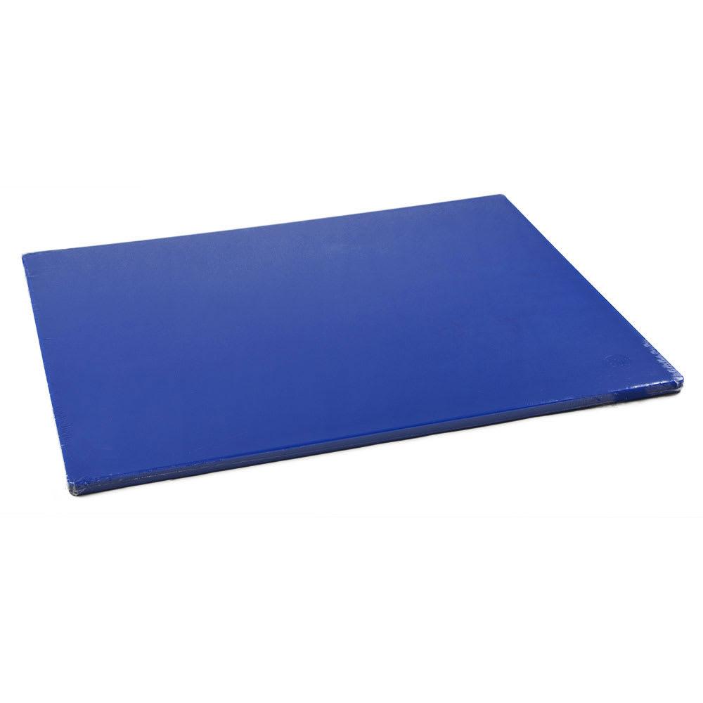 "Browne 57361803 Cutting Board w/ Non-Skid Surface, Medium Density, 18x24x.5"", Blue"