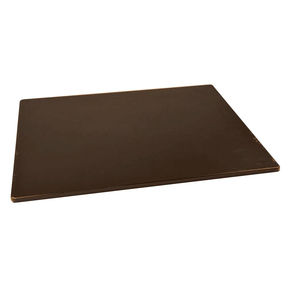 "Browne 57361812 Cutting Board w/ Non-Skid Surface, Medium Density, 18x24x.5"", Brown"