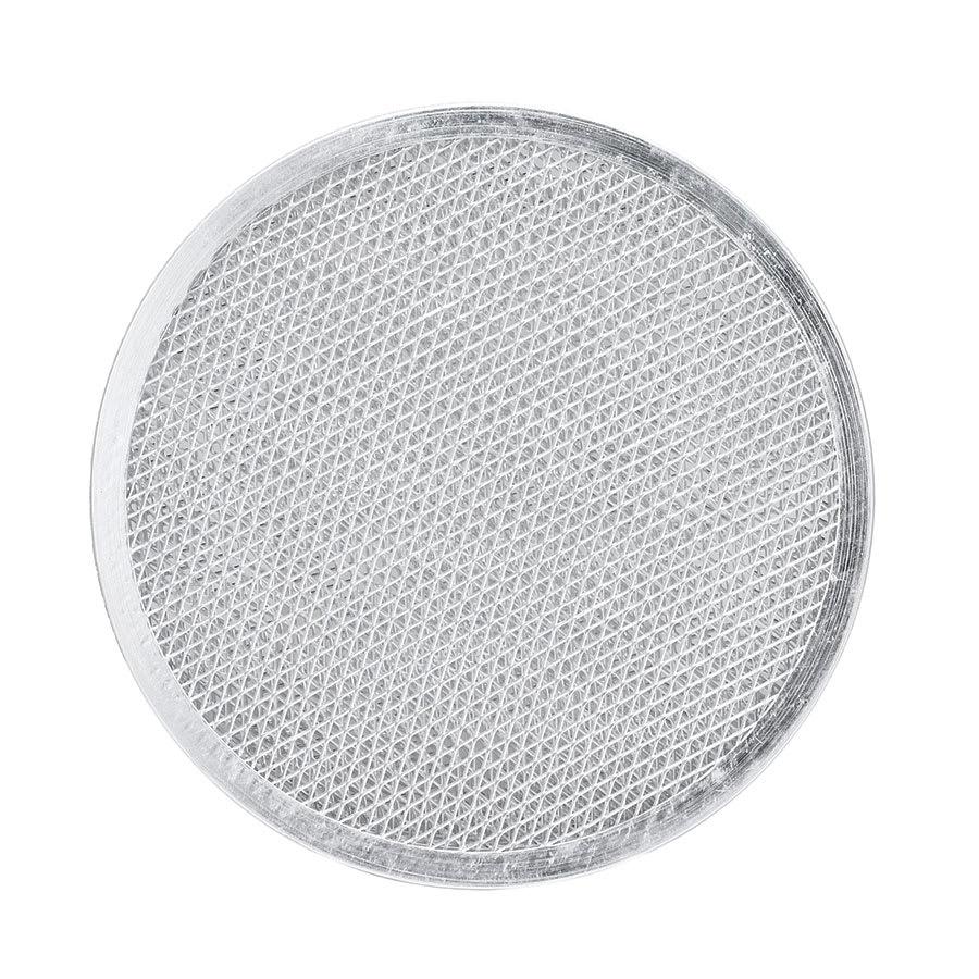 "Browne 575378 Pizza Screen, 8"" Aluminum, Allows Air To Circulate Beneath The Crust"
