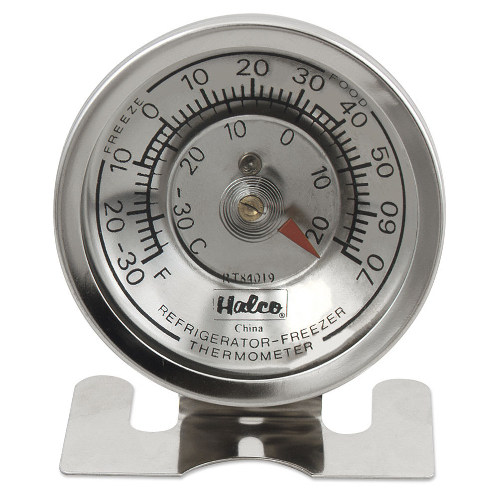 Browne RT84019 Refrigerator / Freezer Thermometer, -30 to 70 F