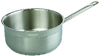 Browne SS32410I 5.25-qt Saucepan - Induction Compatible, 18/10 Stainless