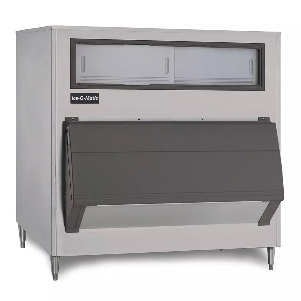 "Ice-O-Matic B1000-48 48"" Wide 1000 lb Ice Bin with Lift Up Door"