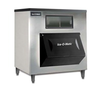 """Ice-O-Matic B130SP 48"""" Wide 1457-lb Ice Bin with Lift Up Door"""