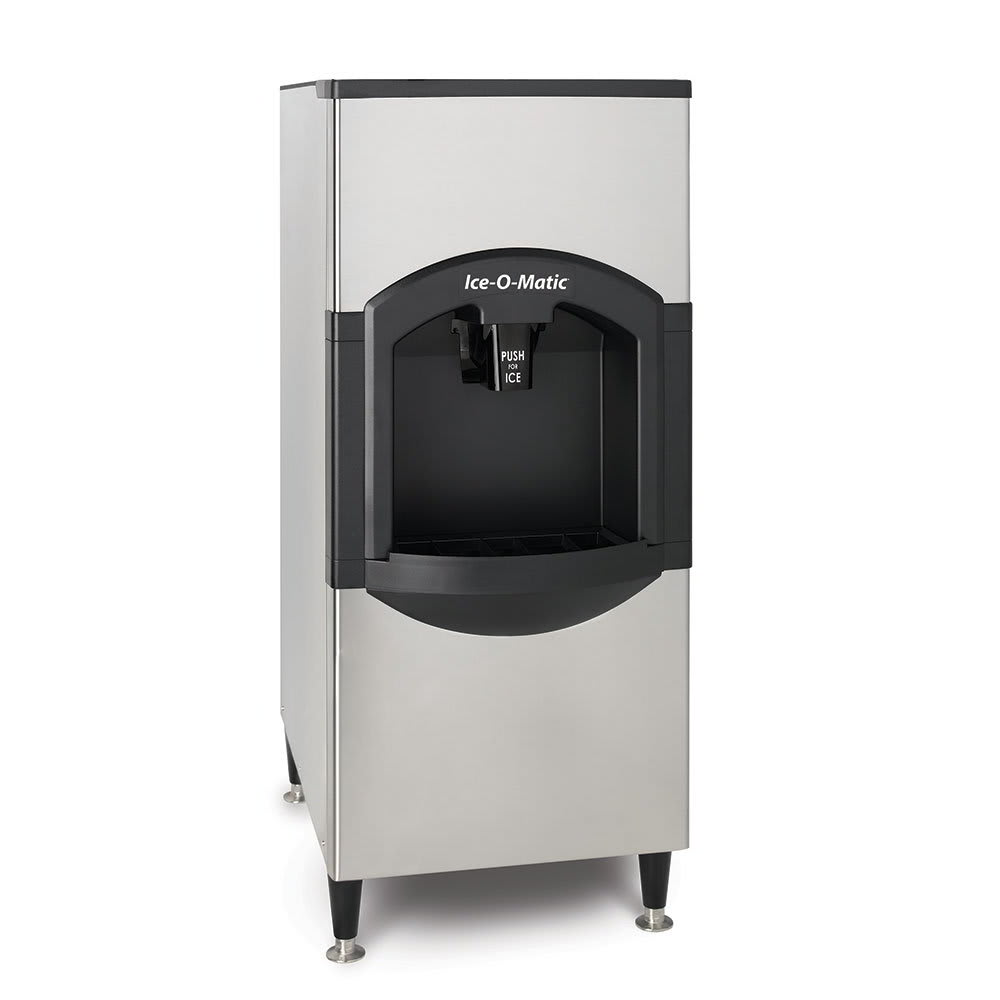 Ice-O-Matic CD40022 Floor Model Cube Ice Dispenser - 120 lb Storage, Bucket Fill, 115v