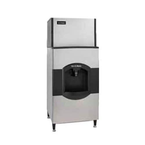 Ice-O-Matic CD40130 Floor Model Cube Ice Dispenser w/ 180 lb Storage - Bucket Fill, 115v