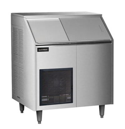 Ice-O-Matic EF250A32S Flake Ice Maker - 400-lb/24-hr, 143-lb Capacity, Air-Cool, Stainless 115v