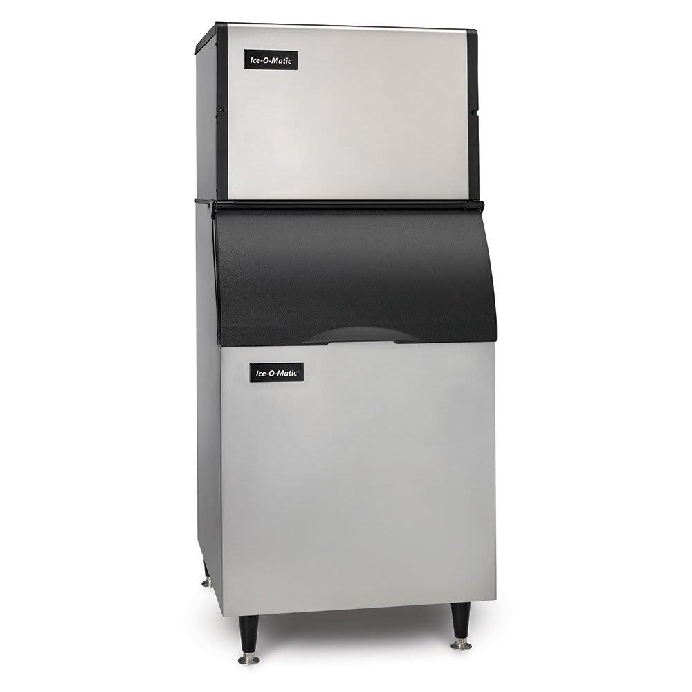 Ice-O-Matic ICE0400HA/B55PS 115V 505-lb/Day Half Cube Ice Maker w/ 510-lb Bin, Air Cooled, 115v
