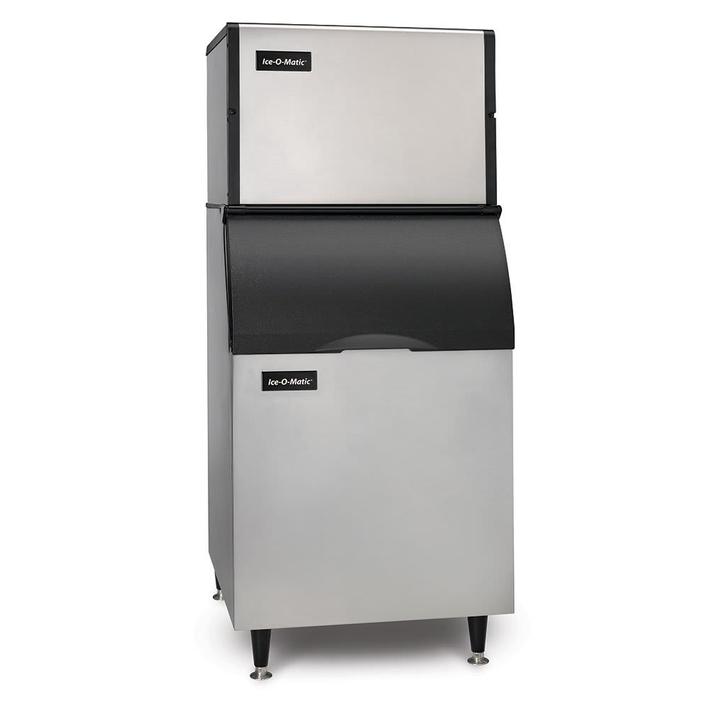 Ice-O-Matic ICE0500HAB55PS 565-lb/Day Half Cube Ice Maker w/ 510-lb Bin, Air Cooled, 115v