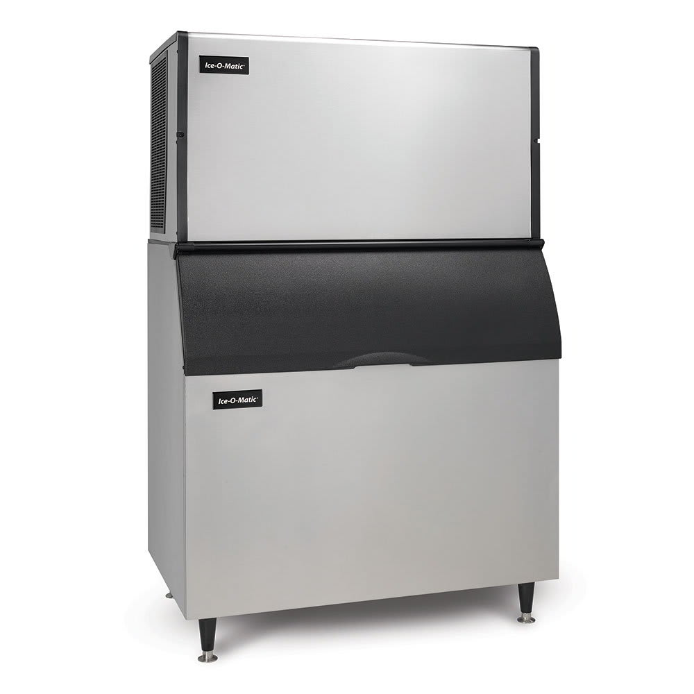 Ice-O-Matic ICE1806HWB100PS 1832-lb/Day Half Cube Ice Maker w/ 854-lb Bin, Water Cooled, 208v/1ph