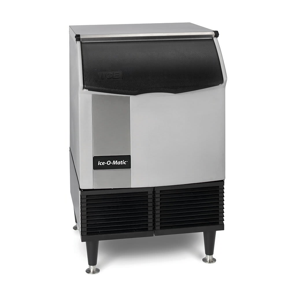 "Ice-O-Matic ICEU220FW 39""H Full Cube Undercounter Ice Maker - 251 lbs/day, Water Cooled"