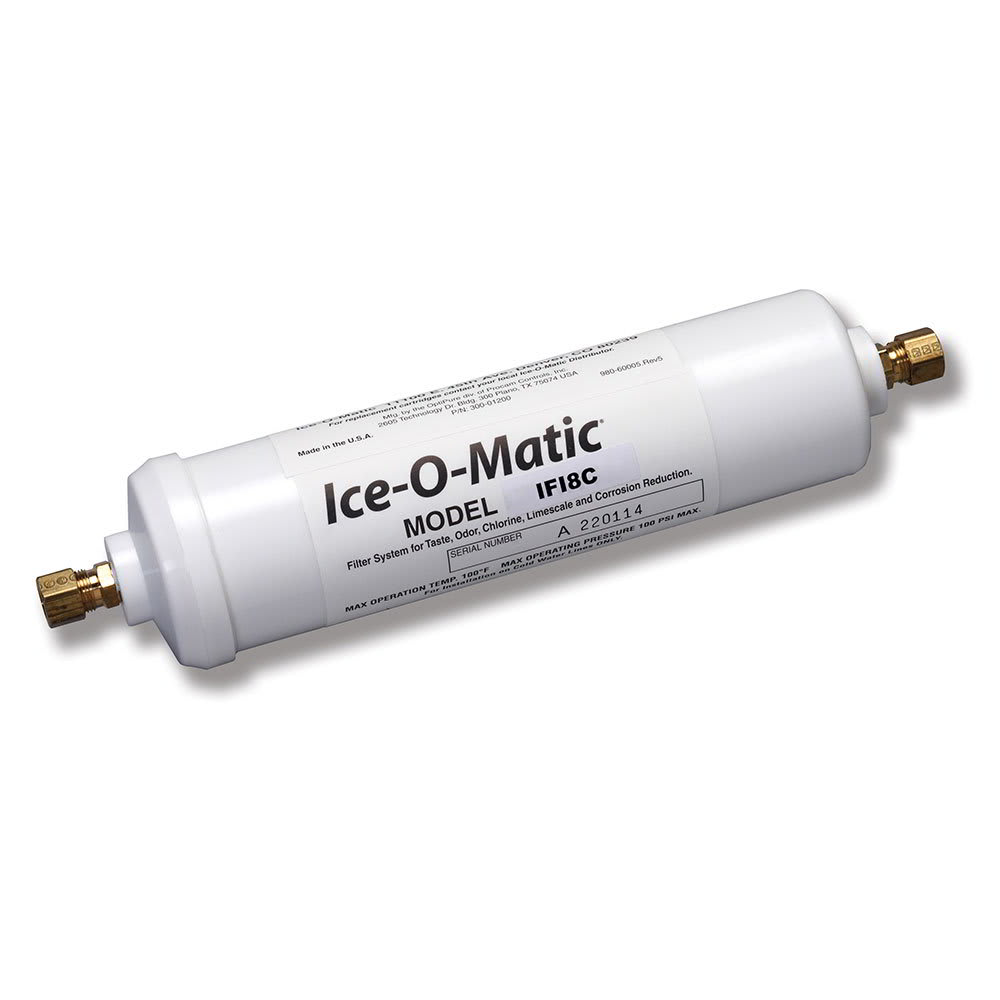 Ice-O-Matic IFI8C Single Pre Filter Water Filter Cartridge, Inline