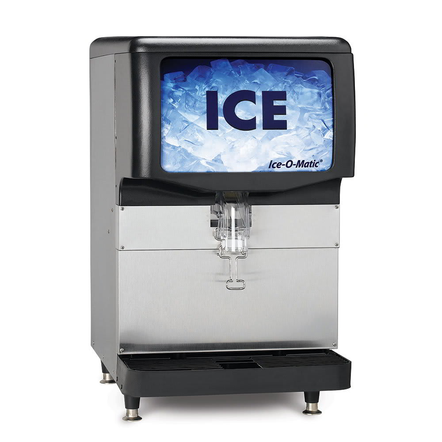Ice-O-Matic IOD200 Countertop Cube Ice Dispenser w/ 200 lb Storage - Cup Fill, 115v
