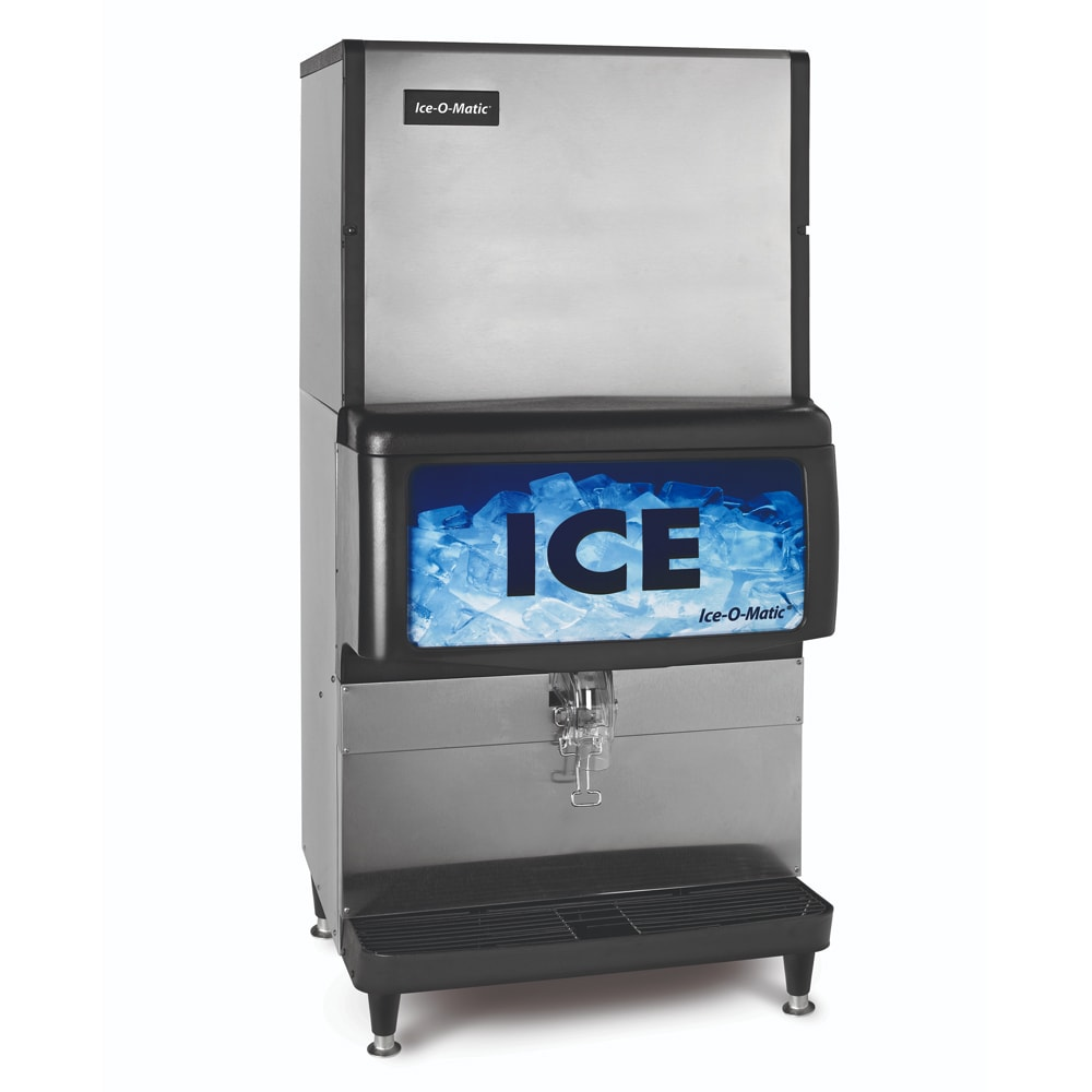 Ice-O-Matic IOD250 Countertop Cube Ice Dispenser w/ 250 lb Storage - Cup Fill, 115v