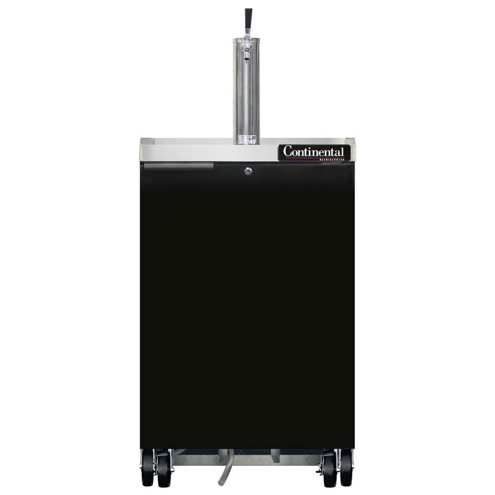"""Continental Refrigeration KC24 24"""" Draft Beer System w/ (1) Keg Capacity - (1) Column, 115v"""