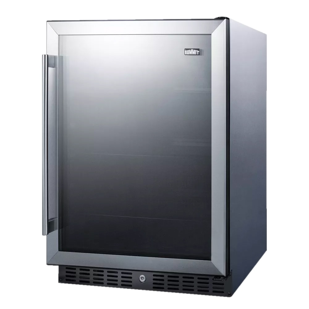 Summit AL57GCSS 5.0 cu ft Undercounter Refrigerator w/ (1) Section & (1) Door, 115v