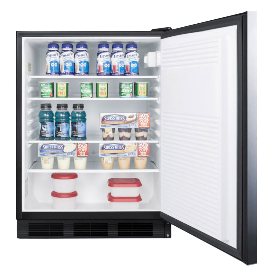 Summit AL752BSSHH Undercounter Medical Refrigerator - ADA Compliant, 115v