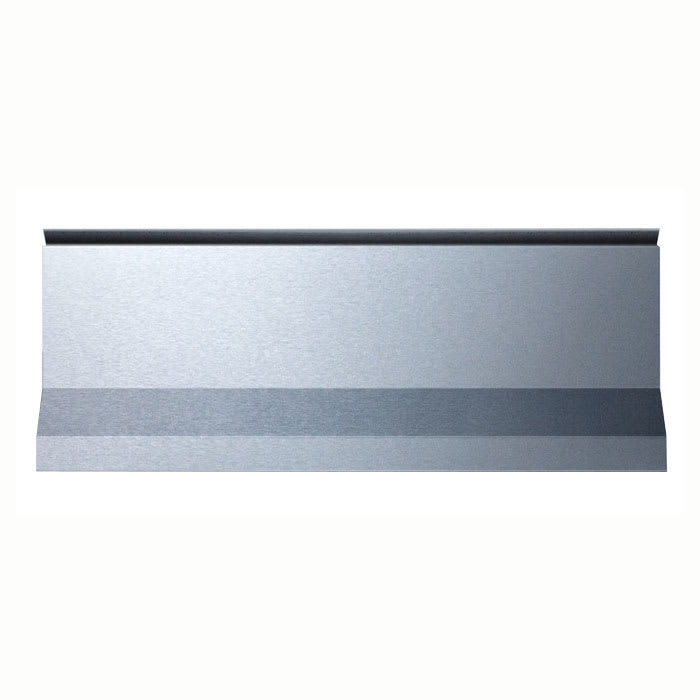 "Summit BG24 10"" High Backguard for PRO20, Stainless"