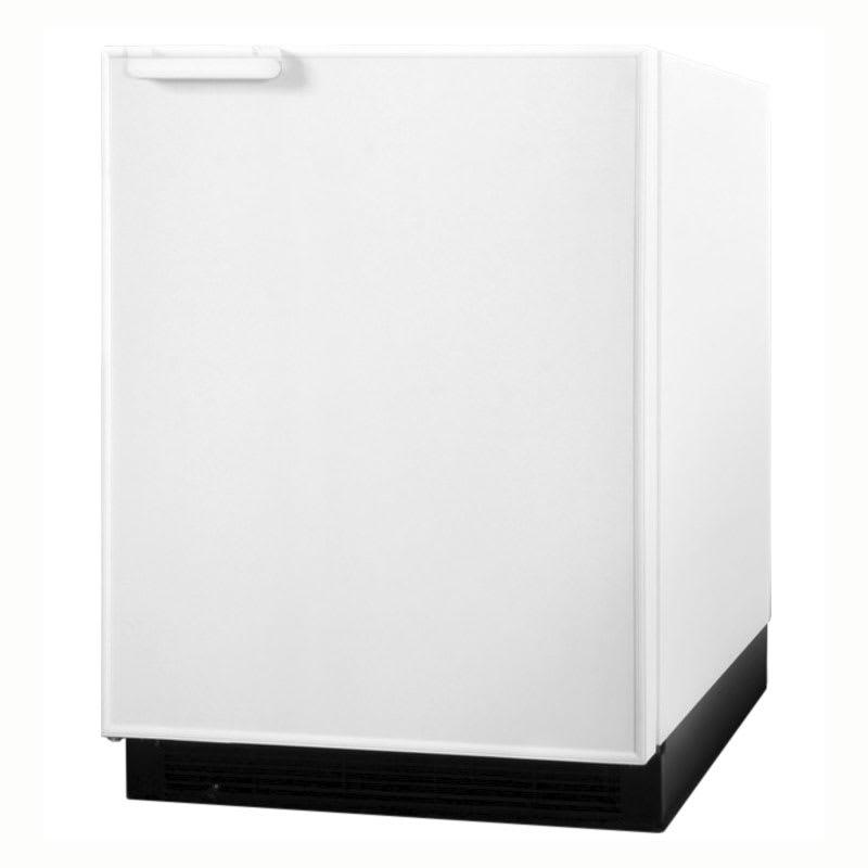 Summit BI605R Undercounter Refrigerator Freezer w/ Manual Defrost, White, 115v