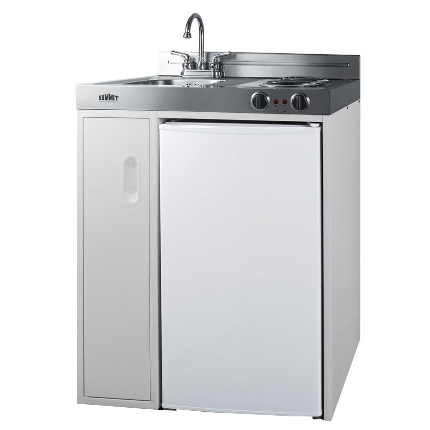 Summit C30el 30 All In One Kitchenette W Cooktop Refrigerator