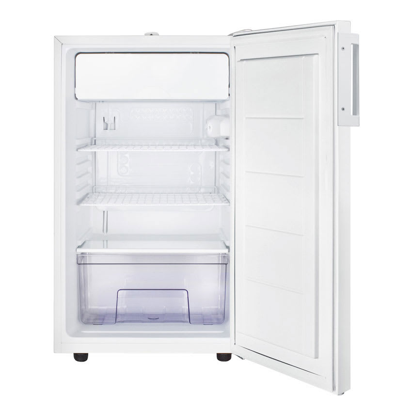 Summit CM411L7 4.1-cu ft Undercounter Refrigerator Freezer w/ (1) Section & (1) Door, 115v