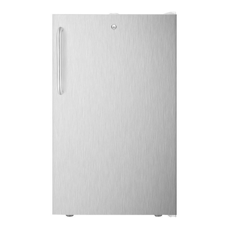 Summit CM411L7SSTBADA 4.1 cu ft Undercounter Refrigerator Freezer w/ (1) Section & (1) Door, 115v