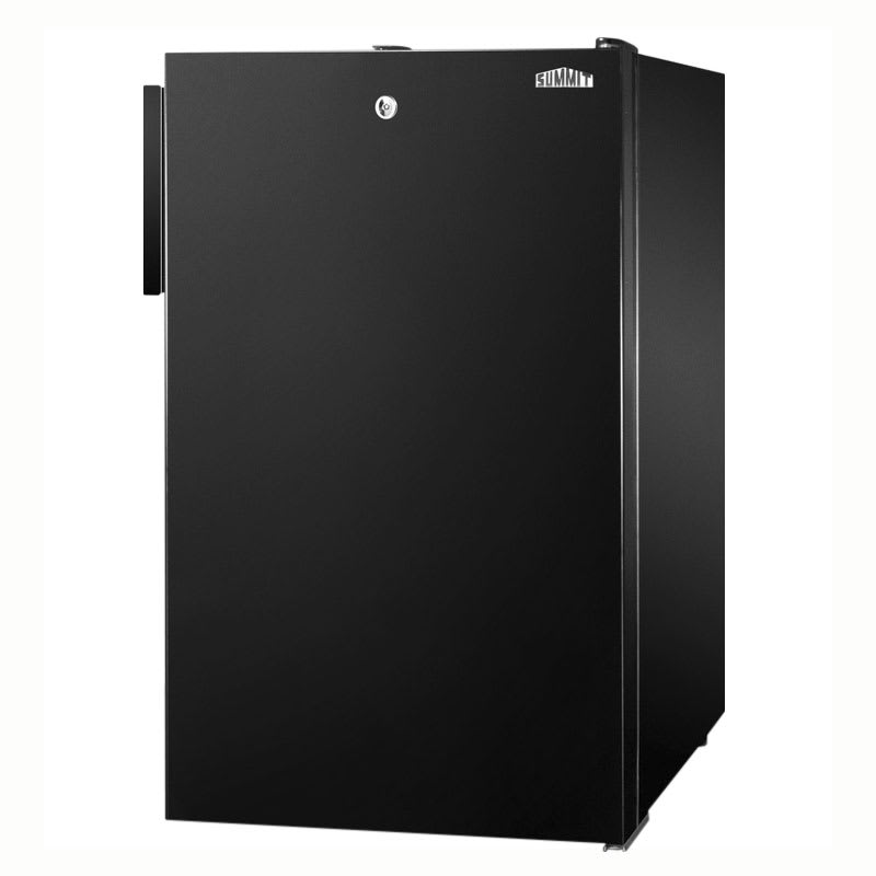 Summit CM421BL7ADA 4.1 cu ft Undercounter Refrigerator Freezer w/ (1) Section & (1) Door, 115v