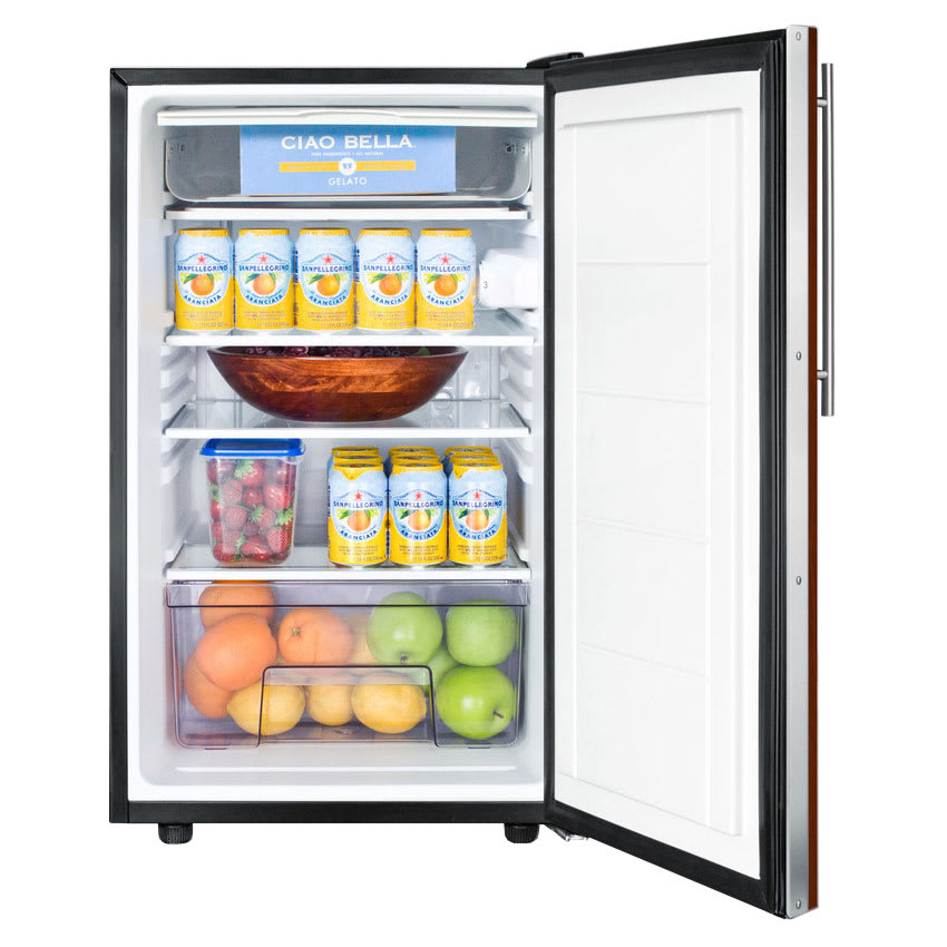 Summit CM421BLBIIF Undercounter Medical Refrigerator Freezer - Dual Temp, 115v