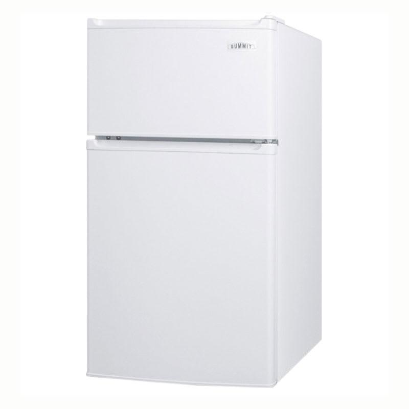 "Summit CP351WADA 19"" Refrigerator Freezer Combo - Freestanding, 2.9 cu.ft, White"