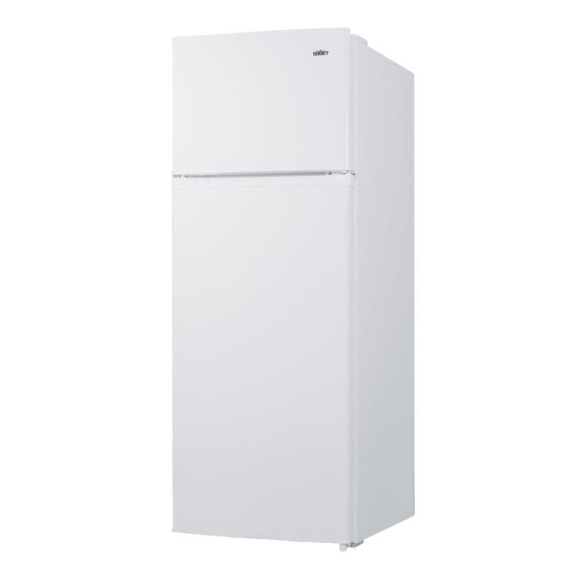 "Summit CP962 21.5"" Refrigerator Freezer - Manual Defrost Freezer, 7.1 cu ft, White"