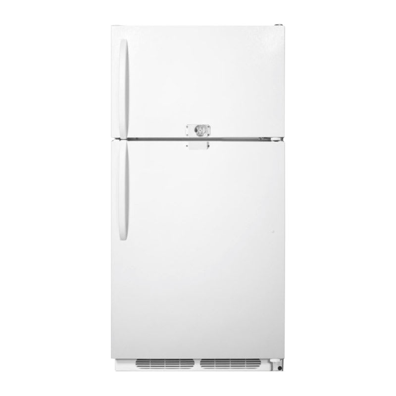 Summit CTR21LLF2 Full Size Medical Refrigerator Freezer - Dual Temp, 115v