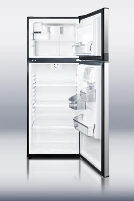 "Summit FF1074SSIM 24"" Two Section Reach-In Freezer, (2) Solid Doors, 115v"