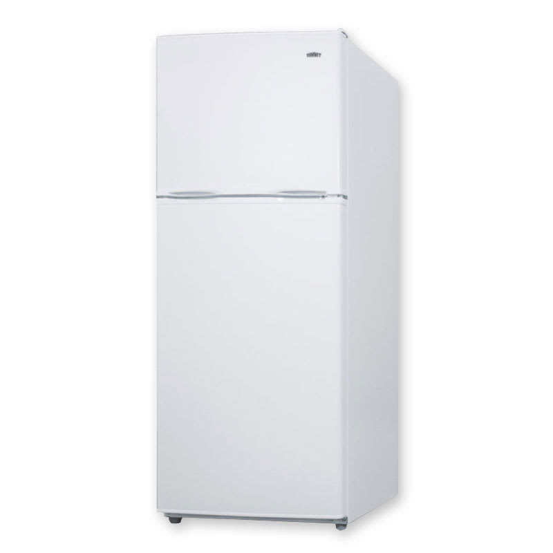 "Summit FF1386W 24"" Refrigerator Freezer w/ Reversible Doors, White, 11.5-cu ft"