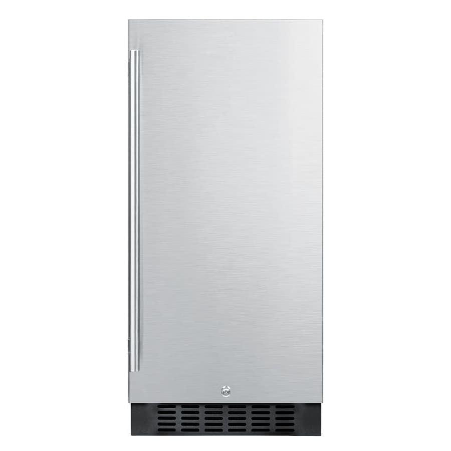 Summit FF1532BSS 3 cu ft Undercounter Refrigerator w/ (1) Section & (1) Door, 115v