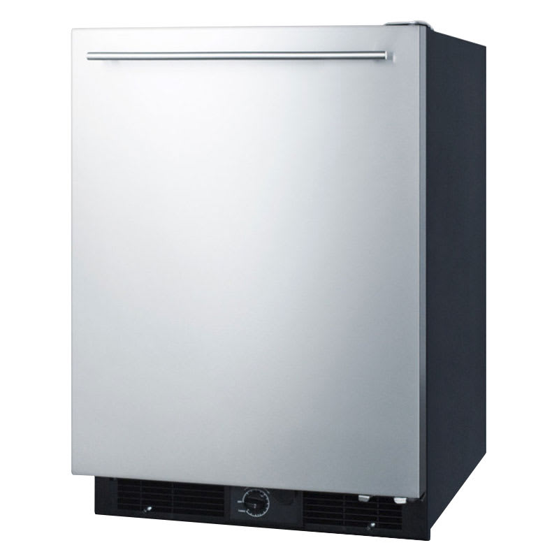 Summit FF590SSHH Undercounter Refrigerator w/ Frost-Free Interior, 5.7 cu ft