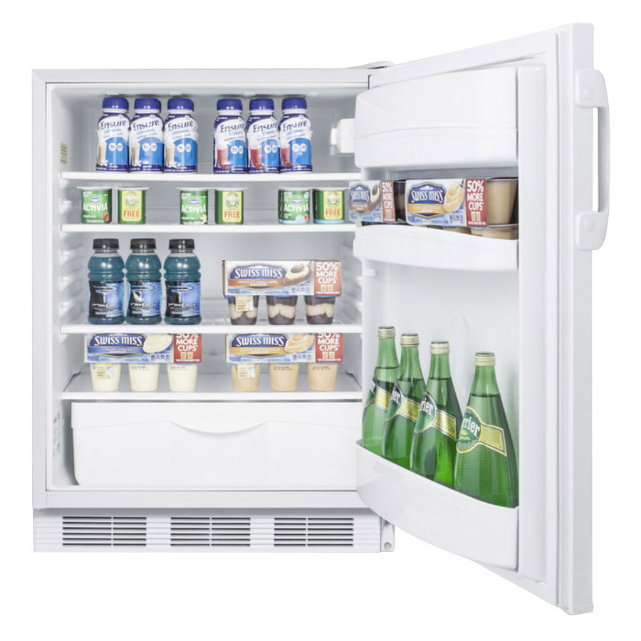 Summit FF6ADA Undercounter Medical Refrigerator - ADA Compliant, 115v