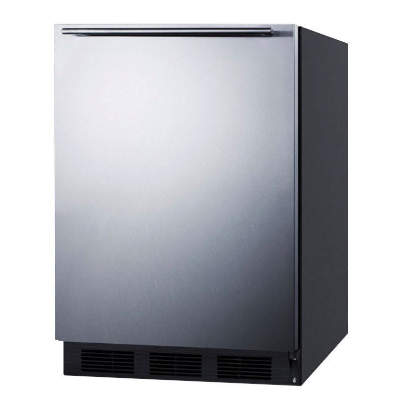Summit FF6B7SSHH 5.5 cu ft Undercounter Refrigerator w/ (1) Section & (1) Door, 115v