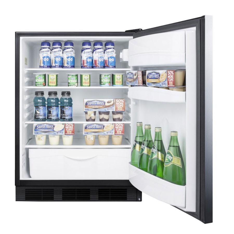 Summit FF6BBISSHHADA Undercounter Medical Refrigerator - ADA Compliant, 115v