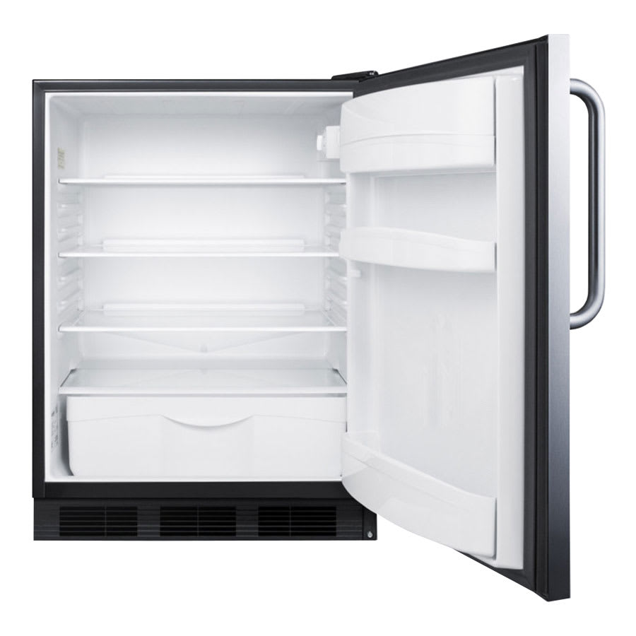 Summit FF6BCSSADA Undercounter Medical Refrigerator - ADA Compliant, 115v